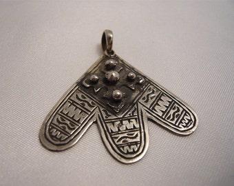 Morrocan Style sterling silver Hamsa