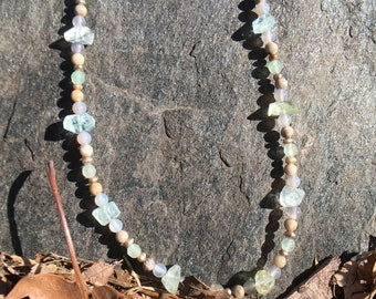 Unique Aquamarine Necklace
