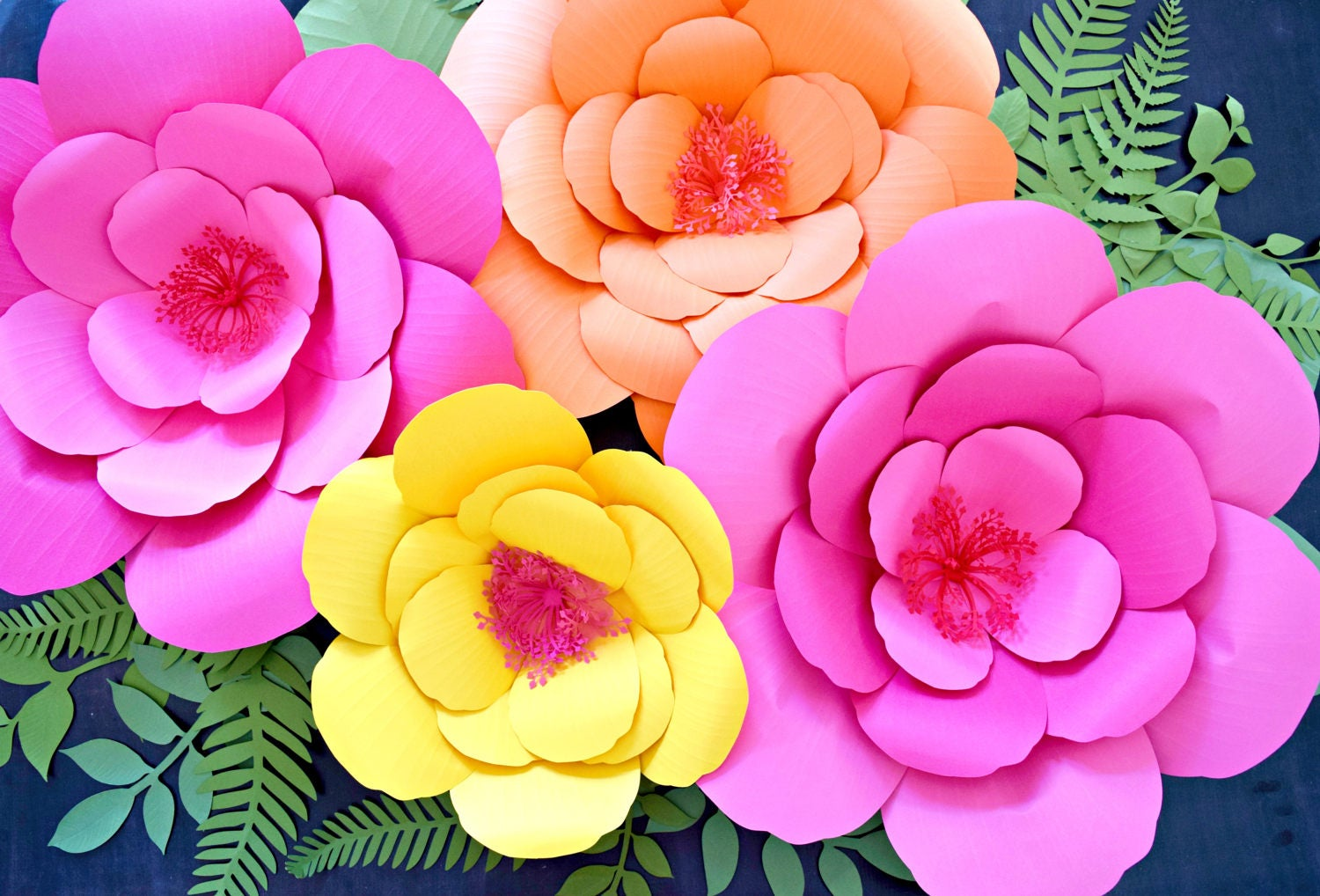 hibiscus paper flower templates giant paper flower templates