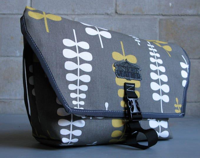 Urban Cycling Messenger Bag Grey
