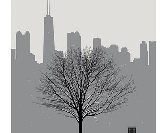 Chi Winter - Screen Print