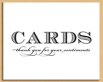 Printable Cards Sign - Wedding Sign - Cards Signage - Wedding and Event Signage -  Instant Download