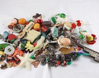 Found Objects Destash Lot One Pound Grab Bag