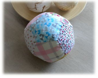 Big ball with Bell cotton fabric