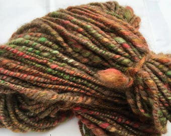 Autumn in Tuscany (2) - Hand Spun, Hand Dyed Alpaca Yarn