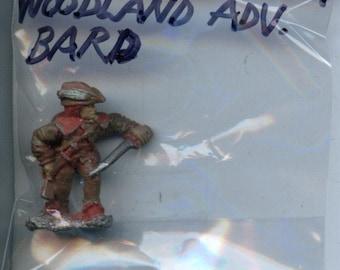 Grenadier WW07 Woodland Adventure Bard Painted Metal Miniature