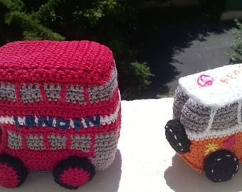 London bus crochet