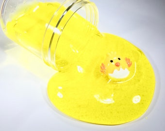 Easter Peep Clear Slime