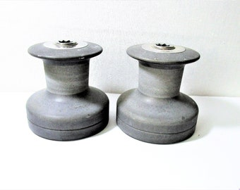 Barient No 21 sailboat winches. Set of 2 yacht winches. Used, in working condition
