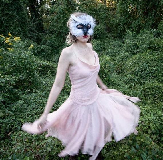 ?zoom & Snowy White Owl Mask Mardi Gras Mask owl mask owl costume
