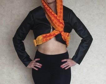 Head scarf jacket