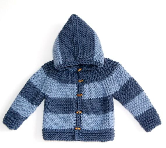 gilet bebe garcon tricot