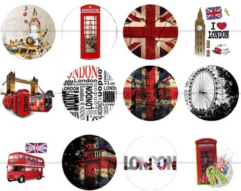 London Magnets Pins British Union Jack Big Ben London Bridge Party Favors Gift Sets Fridge Magnets