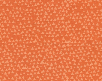 Orange Triangle Geos from Timeless Treasures