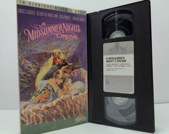 A Midsummer Night Dream VHS Tape
