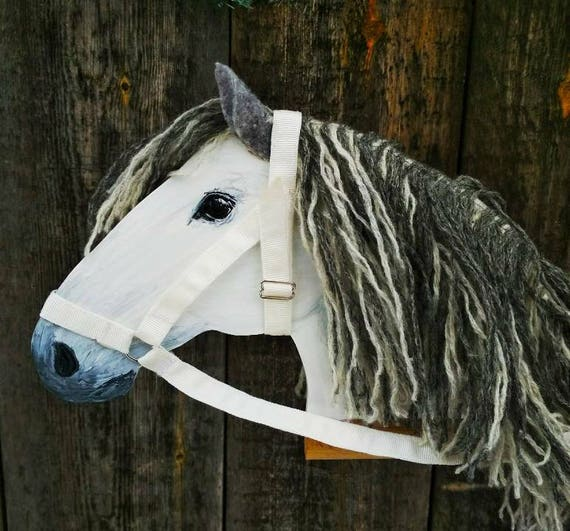 Two hobby horses horse lover gift stick horse stick pony two hobby horses horse lover gift stick horse stick pony wooden toy active games easter gift for kid granddaughter gift wooden rocking horse negle Images