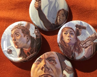 Agents of Shield Comic pins