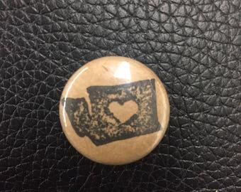 Washington Love pin or magnet