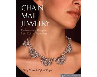 CHAIN MAIL JEWELRY: Contemporary Designs from Classic Techniques - Out of Print - Sale - Bargain -Was 24.95