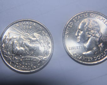uncirculated roll of West Virginia quarters