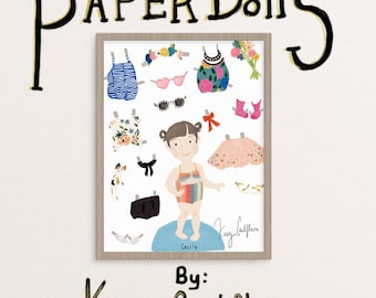 Custom Paper Doll Portrait