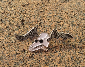 Fear and Loathing in Las Vegas - Flying Bat Hat Pin (Hunter S. Thompson)