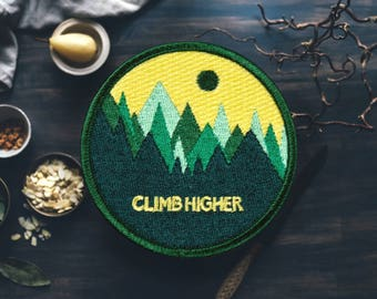 """Colorful Mountain Patch 