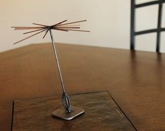 Dandelion Seed Metal Sculpture