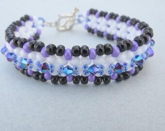 Swarovski Beaded Crystal Bracelet