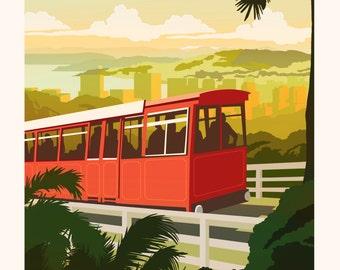 Wellington Travel Poster