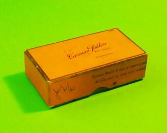 Pharmacy Medicine Box Carman Ruttan Winnipeg Manitoba Prescription Retro Vintage Doctor Ailment Package Display Piece