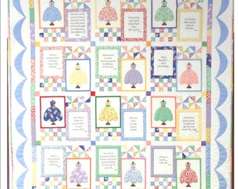 Pretty Dresses Quilt Pattern-BooKeetiful Designs Exclusive Pattern