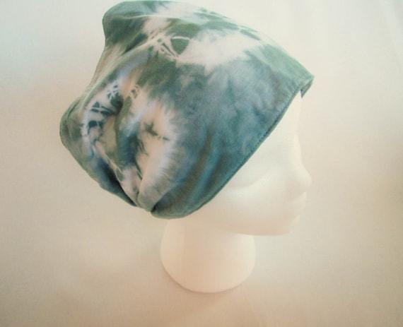Tie Dye Gypsy Headband Hand Dyed in Muir Green/Womens Tie Dye/Gifts for Her/Gypsy Headband/Eco-Friendly Dying