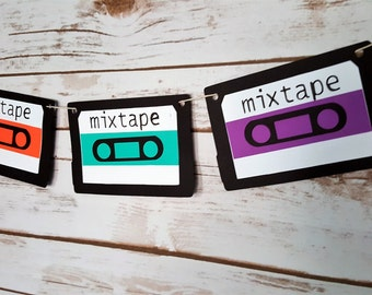 Mix Tape Garland