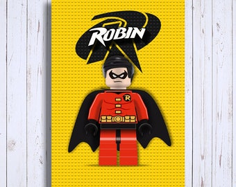 Superhero digital downloadable blade, Robin