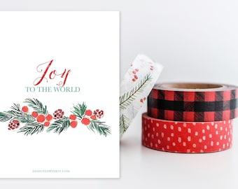 Joy to the World Print
