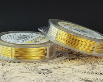 Bare Yellow Brass Artistic Wire - Solid Metal - You Pick Gauge 18, 20, 22, 24, 26, 28 – 100% Guarantee