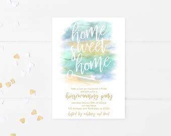 Housewarming Party Invitation, Housewarming Party Invitation Printable, Housewarming Party, Our New Home, New House, First Home, Digital 706