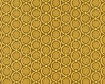 Joel Dewberry - Modern Meadow - Acorn Chain in Harvest - cotton quilting fabric - by the YARD cut