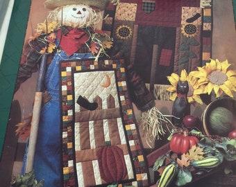 Quilt Debbie Mumm Harvest Scarecrow