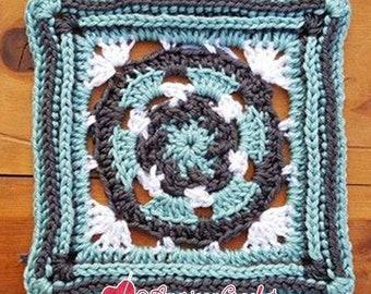 Lindy Circle in A Square Crochet Pattern