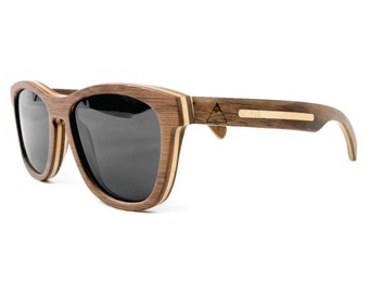 dewerstone - Summit Wooden Sunglasses Polarized - Maple Wood