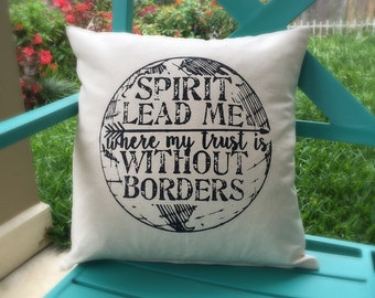 Without Borders Pillow Cover