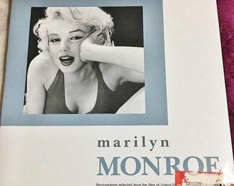 ON SALE - Marilyn Monroe Photographs Selected from File of United Press By Roger Baker