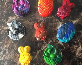 Happy Easter Crayons
