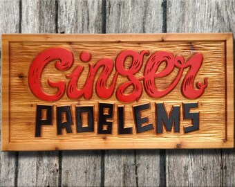 Custom Business Signs - Custom Carved Cedar Signs - Custom Carved Wood Signs