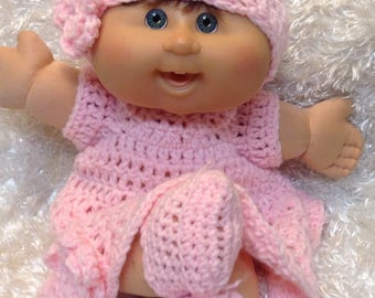 14 inch  doll clothes,17 Inch Doll Clothes,Soft Bodied Dolls,Dress set.Color choices available