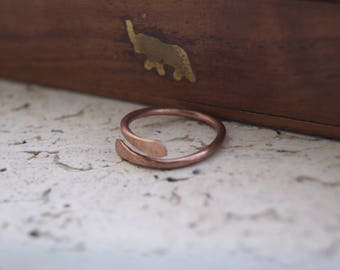 Copper mens ring, copper ring for men, rustic copper ring, jewelry for men, copper man ring, copper filigree ring for men, copper filigree