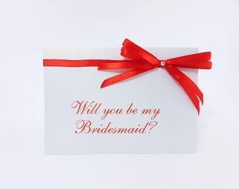 Will you be my bridesmaid card bridesmaid proposal will you be my maid of honour  bridesmaid card bridesmaid proposal card