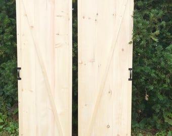 Custom Sliding Barn Doors, Vintage Sliding Barn Doors, Rustic Sliding Closet Doors, Barn Doors, Single Sliding Door, Pair of Barn Doors